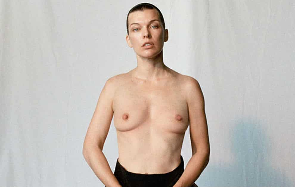 Milla jovovich nude