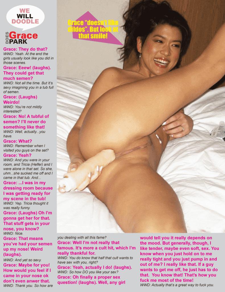 Calientes Estrellas Porno Desnudas grace park desnuda en unas imágenes muy sugerentes