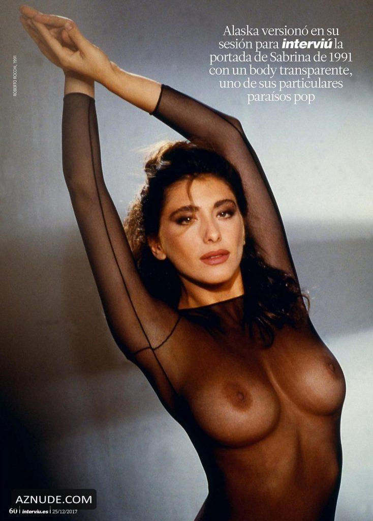 Sabrina Salerno Desnuda Mostrando Sus Buenas Tetas Fotosxxxgratisorg